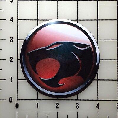 "Thundercats Detailed Logo 4"" Wide Vinyl Decal Sticker BOGO"