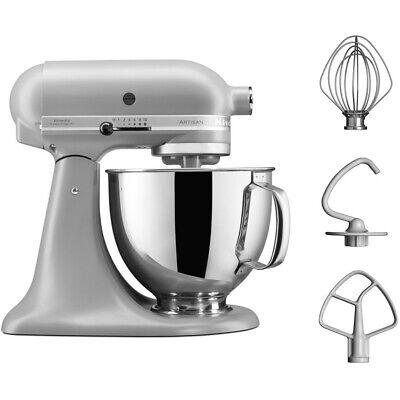 KitchenAid 5KSM125BFG Artisan Stand Mixer with 4.8 Litres Bowl 300 Watt Matte