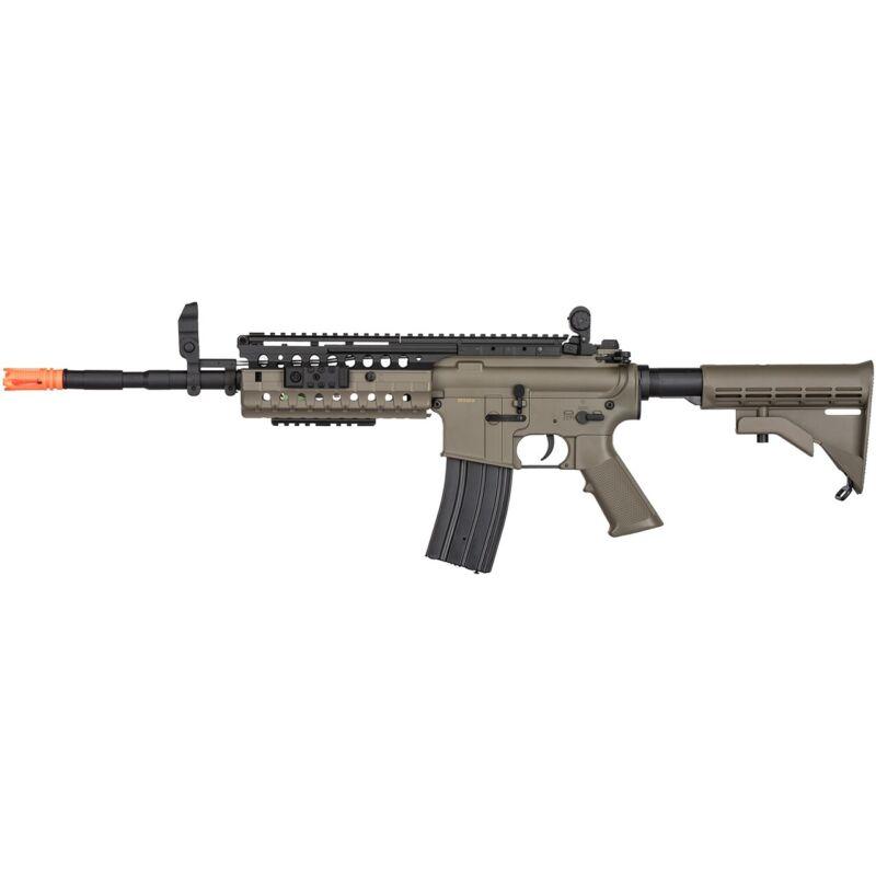 430 FPS FULL AUTO TACTICAL M4 ELECTRIC AEG AIRSOFT RIFLE GUN 6mm Size BB BBs