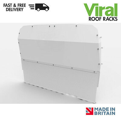 Ford Transit Double Cab 2000-2014 Van Guard Solid Steel Bulkhead VG295S