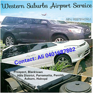 Western airport shuttle Prospect Blacktown Area Preview