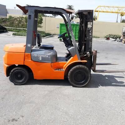 Toyota Forklift Truck 7fdu30 124648 Hours