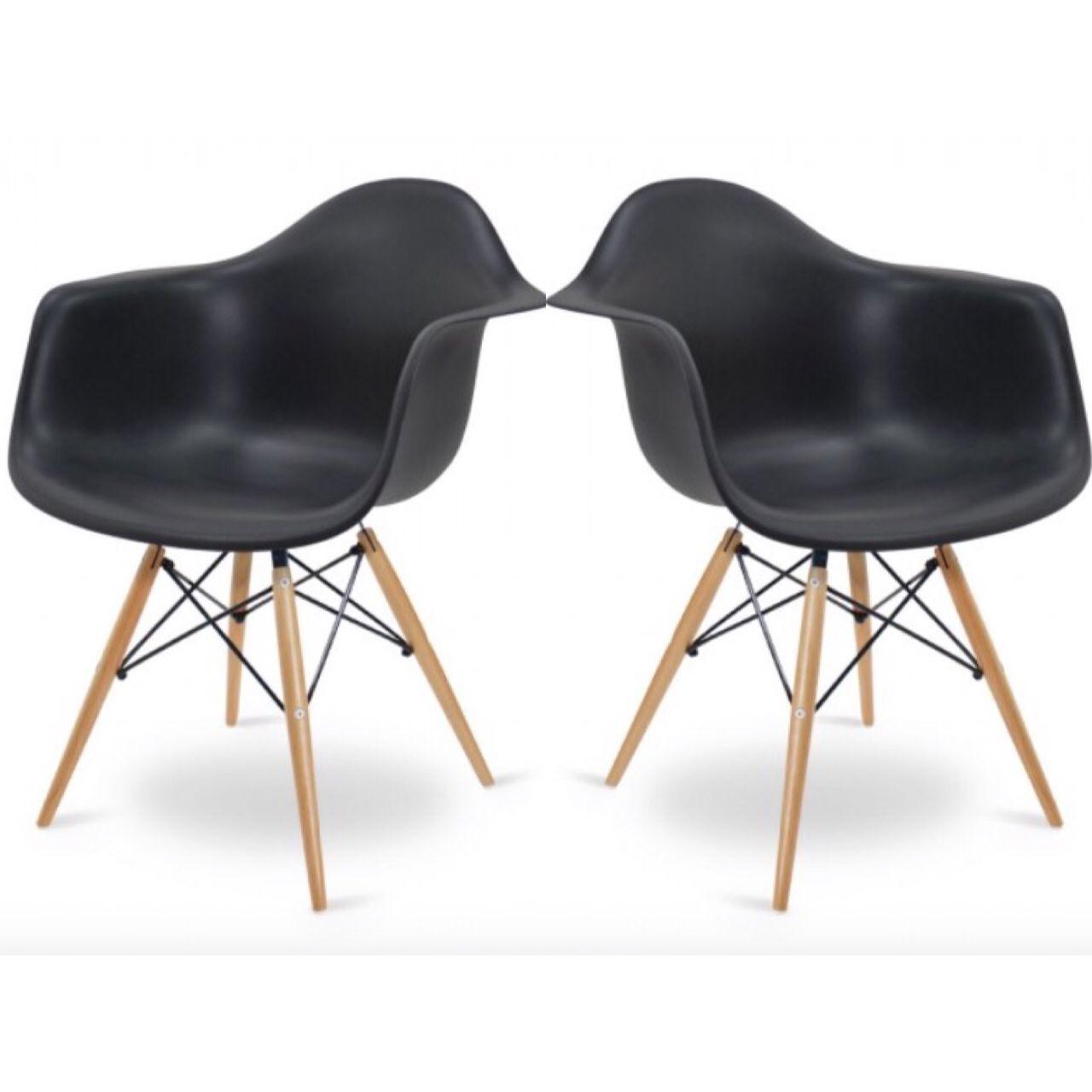 2er st hle esstischstuhl stuhl esszimmerstuhl b rostuhl for Design stuhl eiffel