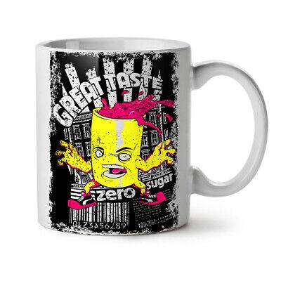 od NEW White Tea Coffee Mug 11 oz | Wellcoda (Taste Candy)