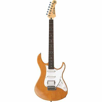 YAMAHA Pacifica 112J Guitarra Eléctrica En Amarillo Natural Satén