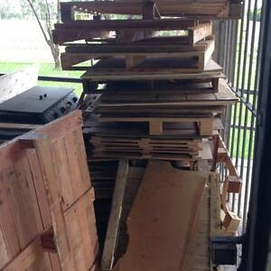 Firewood, broken untreated pallets & pine plywood Melrose Park Parramatta Area Preview