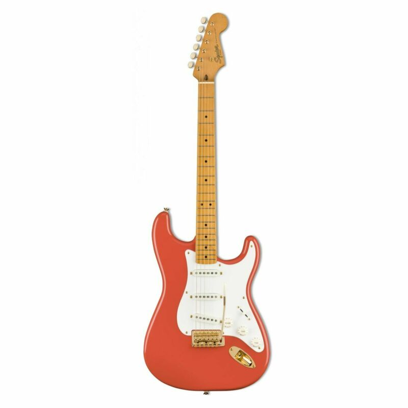 SQUIER Classic Vibe '50s STRAT Fiesta Red, Gold Hw