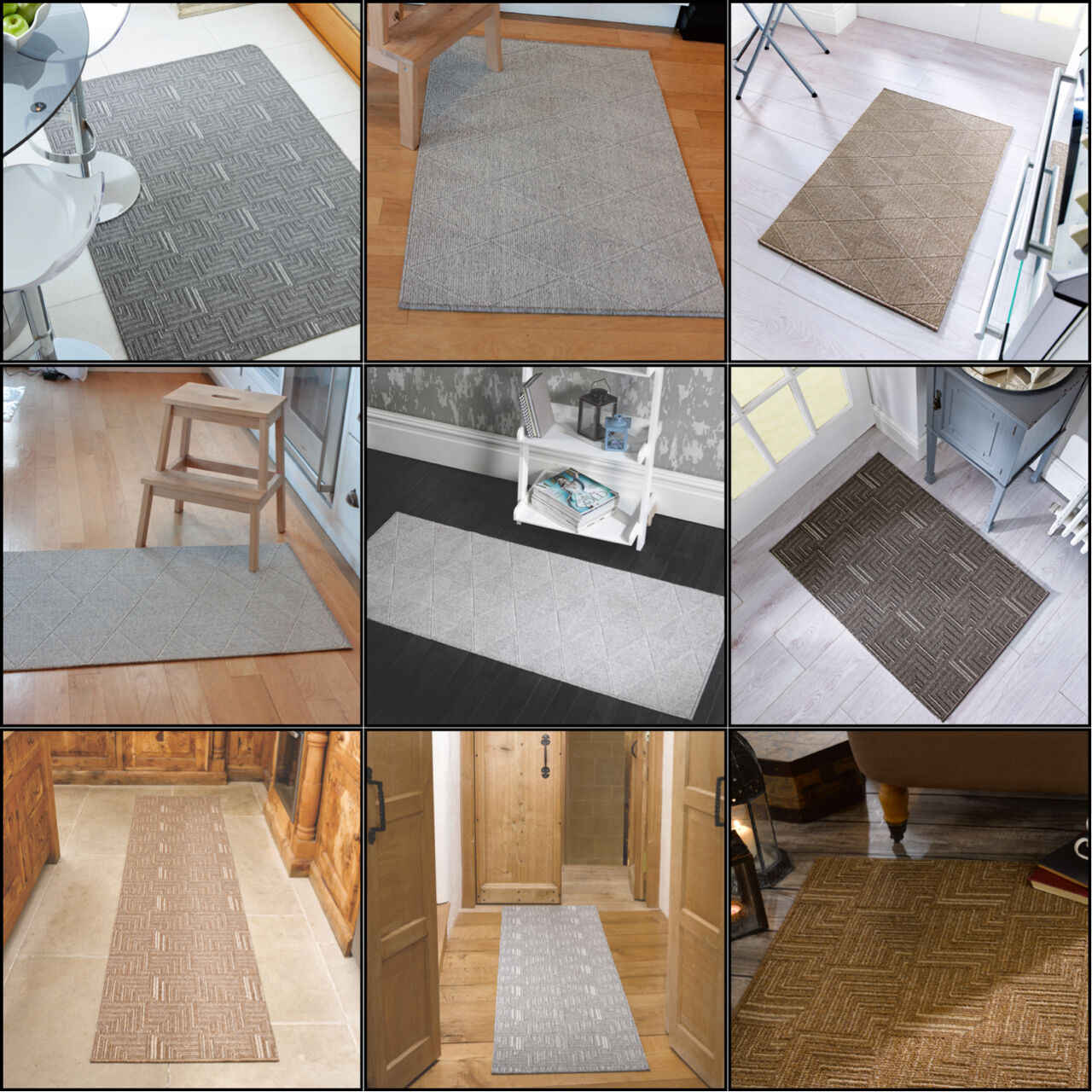 Skyline Quality Washable Anti-Slip Mat For Kitchen and Room