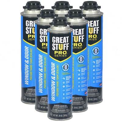 Dow Great Stuff Pro Window And Door Lot 6 From Sealed Case Foam Gun Foam