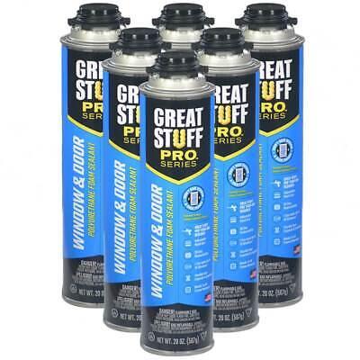 Dow Great Stuff Pro Window And Door Lot 6 From Sealed Case Foam Gun Foam