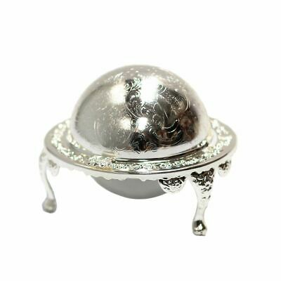Silver Plated Roll-Top Caviar Server Silver Caviar Server