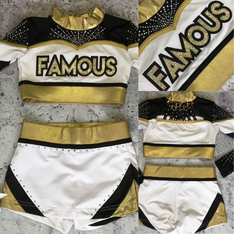 Real Cheerleading Uniform Allstar Famous Youth S