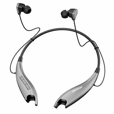 Mpow Jaws Gen5 Neckband Bluetooth 5.0 Headphones Wireless Headset Sport Earphone