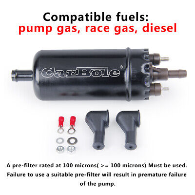 NEW Inline High Pressure Fuel Pump Universal Replacement 0580464070 for Car