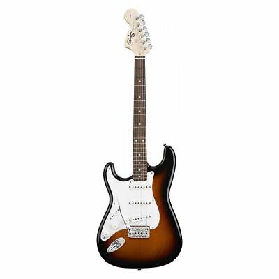 Squier Afinidad STRATOCASTER, Rw, Brown Sunburst, Zurdos - Guitarra Eléctrica