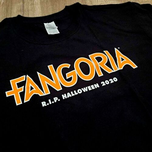 Fangoria T-shirt Official Halloween 2020 R.I.P Limited Edition Exclusive Horror