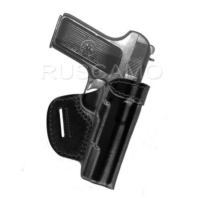 Belt holster for Tokarev (TT), Zastava M57 pistol waist belt (OWB), black, used for sale  Shipping to United States