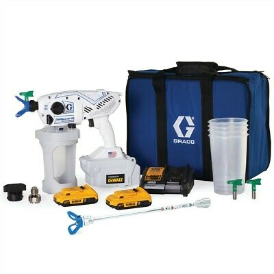 Graco Sanispray Hp 20 Cordless Handheld Airless Disinfectant Sprayer 25r791