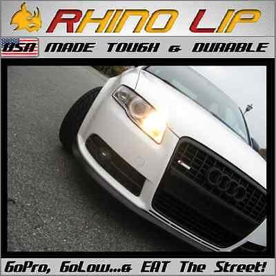 Audi RS R8 TT GT Avant Spyder Coupe Rubber Flex Chin Lip Spoiler Splitter Trim *