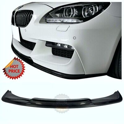 3D CARBON FIBER FRONT LOWER LIP FOR 14-18 BMW F12 F13 M SPORT COUPE & GRAN COUPE