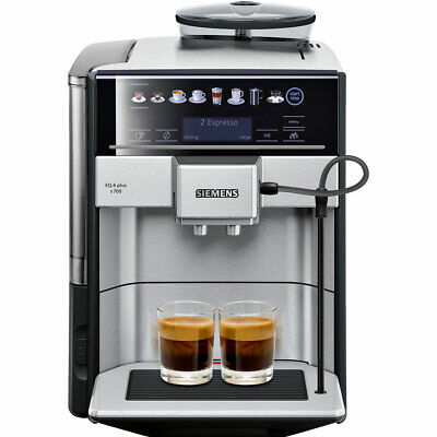 Siemens TE657313RW EQ6 Bean to Cup Coffee Machine 1500 Watt 19 bar Silver