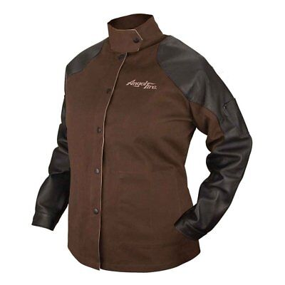 Black Stallion Angelfire Bw9cps Womens Welding Jacket W Leather Sleeves Xs-xl