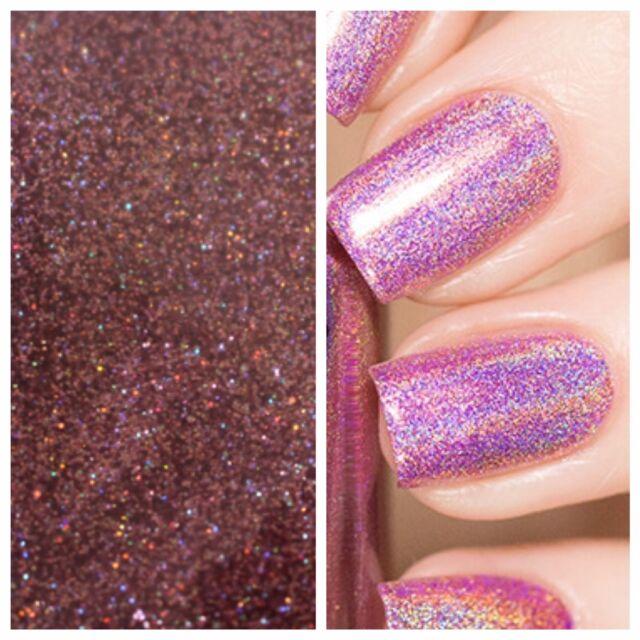 Sb Pink Holographic Mermaid Effect Nail Art Powder Glitter GEL ...