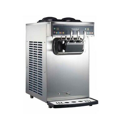 Pasmo 230 Soft-serve Ice Cream Froyo Twin-twist Swirl Countertop Machine