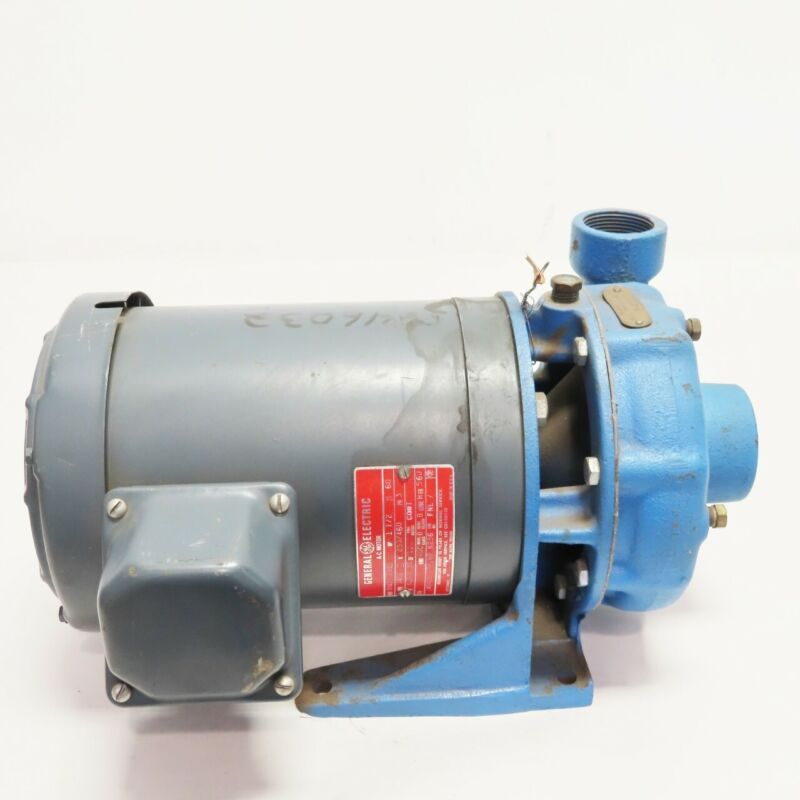 General Electric Ge 5K43KG2590 Ac Motor 56j 3ph 1-1/2hp 3450rpm 230/460v-ac