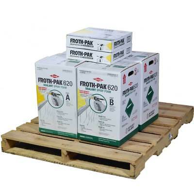 Spray Foam Insulation Kit Dow Froth-pak 620 2 Pack 1240 Board Feet Total