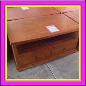 2 drawer tv unit  Solid Pine Timber Busselton Busselton Area Preview