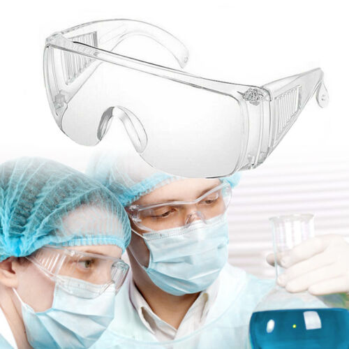 Transpatent Safety Goggles Glasses Anti Fog Lens Work Lab Protective Chemical