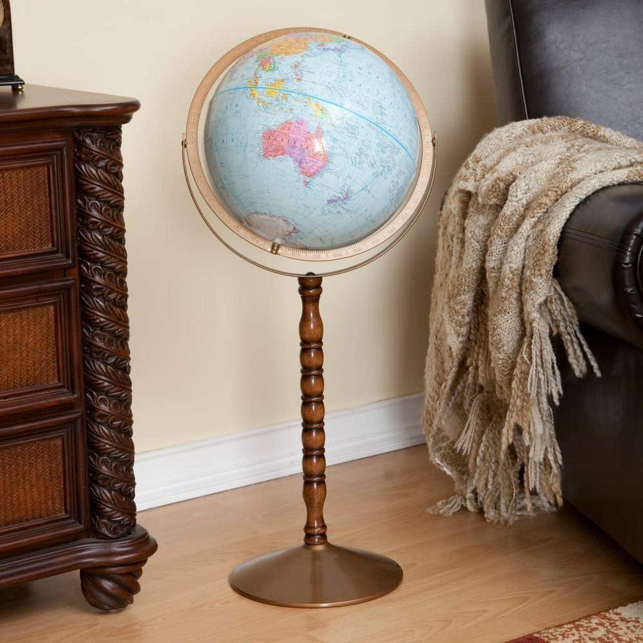 """12"""" Treasury Floor Globe"""