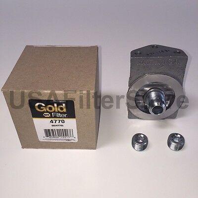 Napa Gold 4770 Fuel Filter Remote Mounting Base   Wix 24770