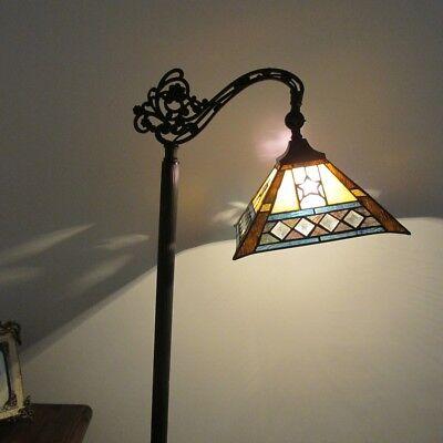 Chloe Lighting Tiffany Style 1 Lt Reading Floor Lamp (Tiffany Square Floor Lamp)