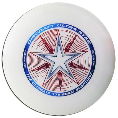 DISCRAFT ULTRA-STAR ULTIMATE DISC - WHITE COMPETITION STANDARD 175gREGULATION for sale  Shipping to India