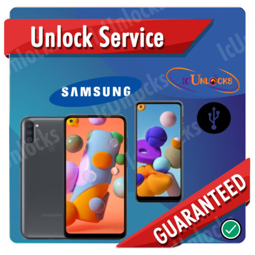 REMOTE UNLOCK SERVICE SAMSUNG A11 SM-A115U/ A215U T-Mobile / Metro PCS