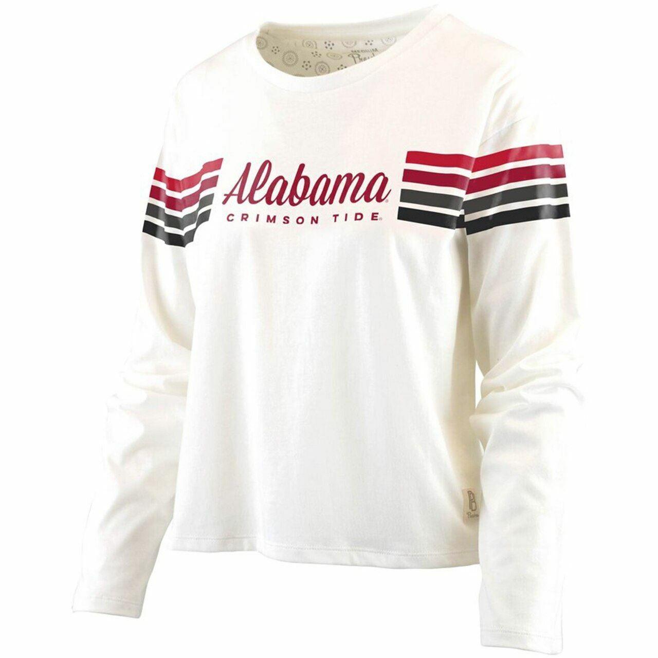 NCAA Alabama Crimson Tide Off The Shoulder Tee