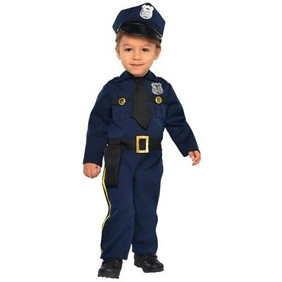Cop Recruit Costume - Baby 6-12 months #398605