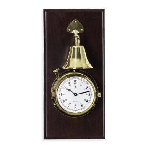 Bey-Berk Brass Striking Clock w/Bell