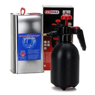 KASOTEC Bremsenreiniger Montagereiniger 5 L + KS TOOLS Druckpumpflasche 2 LITER online kaufen