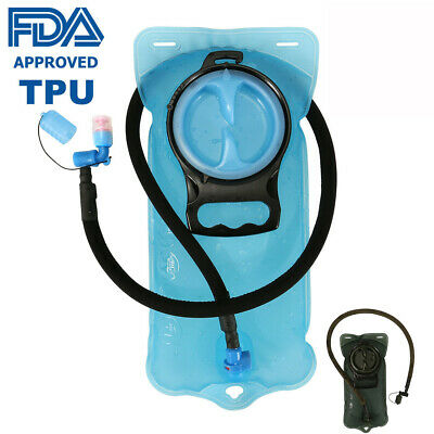 Tactical Hydration Bladder System 2L FDA Water Bag Pack Pouch For Camping -