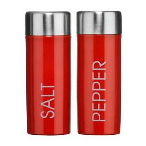 Red Salt And Pepper Pots