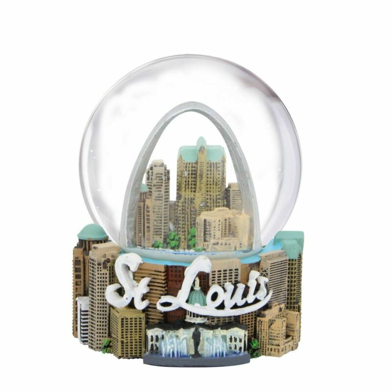 St. Louis Snow Globe 3.5 Inches