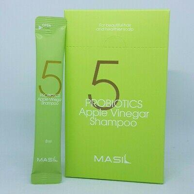 MASIL 5 Probiotics Apple Vinegar Shampoo 8ml x 20ea Hair Shiny K-Beauty