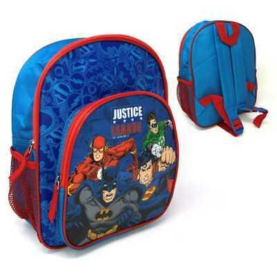 Childrens Justice League Backpack Rucksack School Travel Bag Batman Super-Man 28