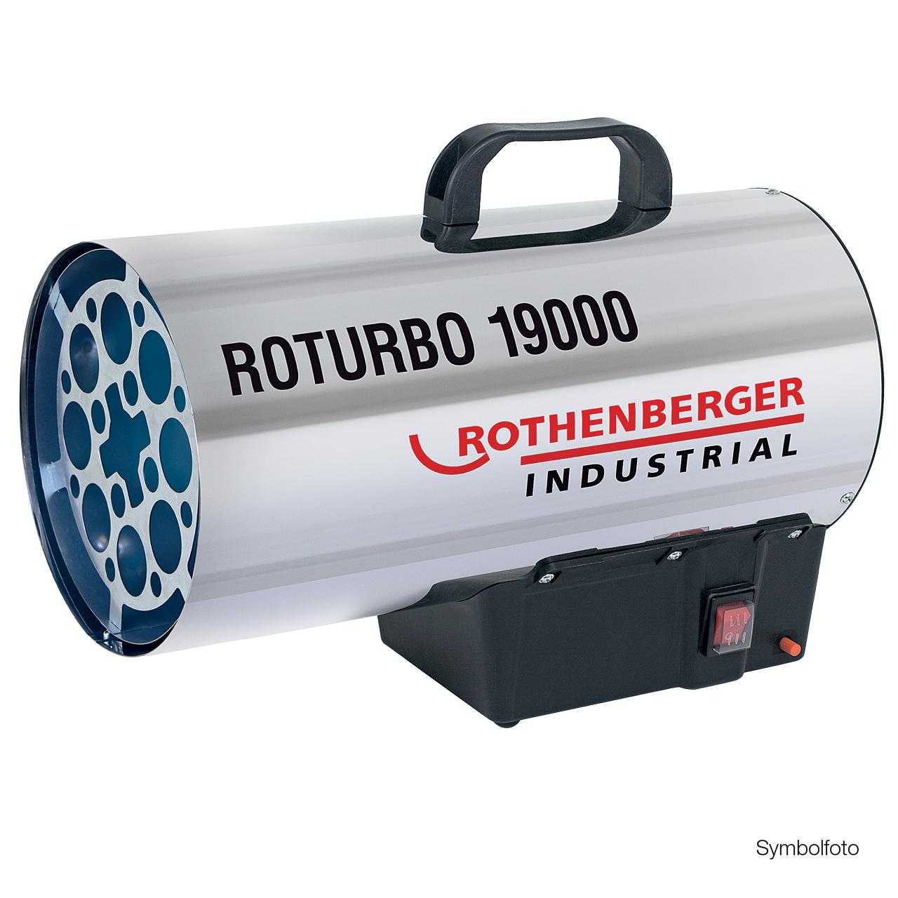 B-Ware Rothenberger Industrial Gasheizkanone Roturbo 19000 Heizgerät