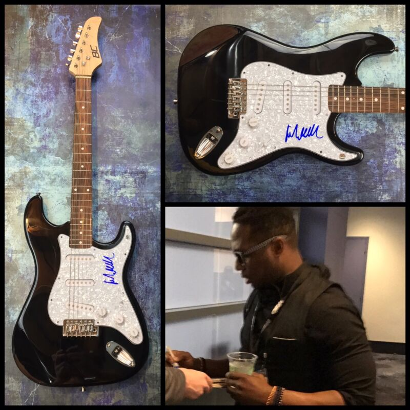 GFA And the Family Band * ROBERT RANDOLPH * Signed Electric Guitar PROOF COA