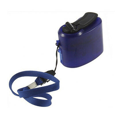 USB Hand Crank Cell Phone Emergency Charger Manual Dynamo Fit MP4 MP3 #EY