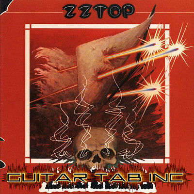 ZZ Top Guitar Tab DEGUELLO Lessons on Disc on Rummage